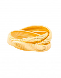 Triple Gold Cobra Bracelet