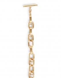 Dean Davidson - Gold Textured Chain Link Bracelet
