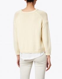 Brochu Walker - Corbin Buttercream Yellow Cotton Cashmere Looker Sweater