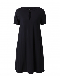 Marc Cain - Navy Crepe Shift Dress