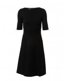 Black Luxe Jersey Dress