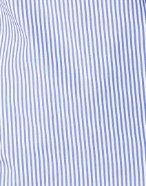 Gretchen Scott - Navy and White Striped Cotton Top