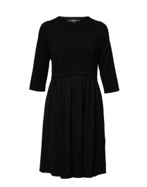 Mincio Black Cotton Dress