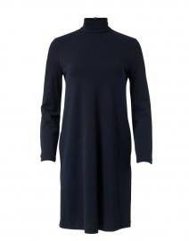 Trento Navy Cotton Dress