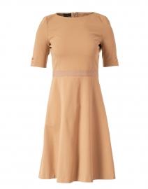 Camel Stretch Milano Dress
