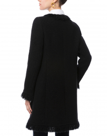 Seventy - Black Tweed Coat