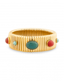 Strada Green and Red Medium Bracelet