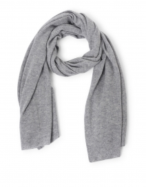 Grey Heather Cashmere Mini Travel Wrap