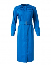 Dibanora Blue Stretch Cotton Dress