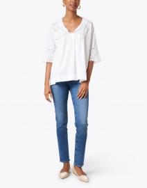 Soler - Marina White Cotton Top