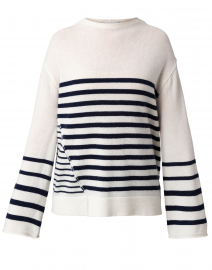 Ida Salt White Wool and Cashmere Sweater