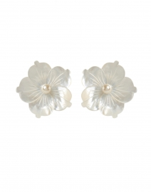 Zia Mother of Pearl Stud Earring