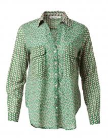 Guy Green Santo Print Cotton Shirt