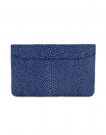 Claire Royal Blue Stingray Credit Card Holder