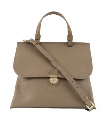 Orleans Medium Beige Satchel Bag