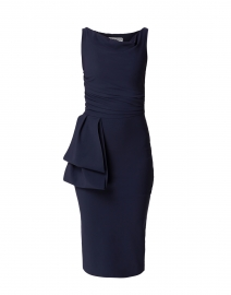 Cassie Navy Stretch Jersey Dress