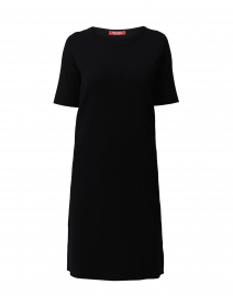 Paggi Black Knit Viscose Dress
