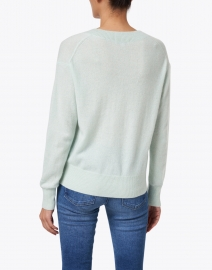 White + Warren - Bright Mint Cashmere Sweater