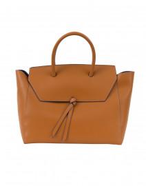 Loren Cognac Leather Tote