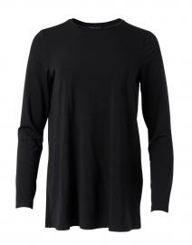Black Essential Fine Jersey Tunic