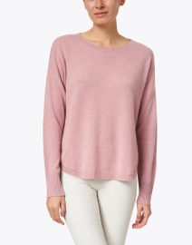Repeat Cashmere - Gloss Pink Cashmere Sweater