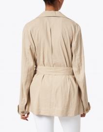 Vince - Clay Beige Belted Linen Jacket
