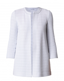 Codorna Pale Grey and White Jacket