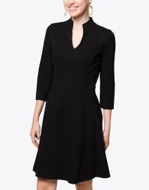 Jude Connally - Kennedy Black Ponte Dress