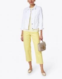 Saint James - Tania White Denim Jacket