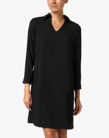 Weill - Galop Black Crepe Dress