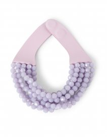 Bella Soft Lilac Multistrand Necklace