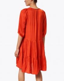 Tara Jarmon - Reeza Orange Satin Dress