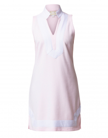 Pale Pink and White Terry Classic Tunic