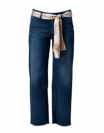 Cambio - Phillipa Blue Stretch Denim Culotte Jean