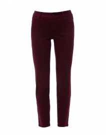 Melrose Red Stretch Cotton Jean