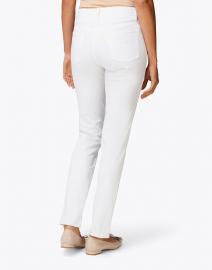 Fabrizio Gianni - White Stretch Cotton Twill Jeans