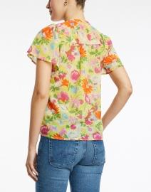 Banjanan - Jennifer Yellow Floral Cotton Top