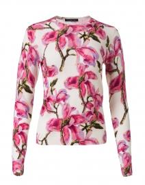 Charlotte Pink Magnolia Blossom Silk Cashmere Sweater