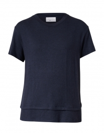 Clifton Navy Cotton and Modal Shirt