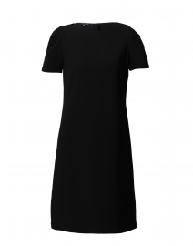 Cohen Black Crepe Shift Dress