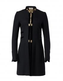 Medallion Black and Gold Coat