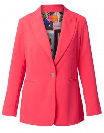 Katrina Bright Pink Crepe Blazer