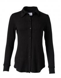 Eastdale Black Cotton Modal Shirt