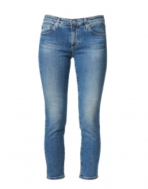 Prima Crop Cielo Blue Denim Cigarette Jean