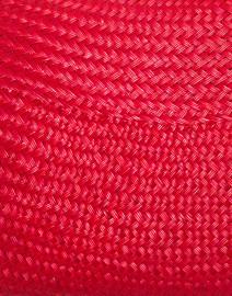 Kayu - Jen Red Straw Clutch
