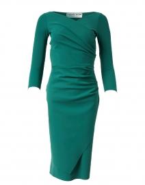 Calantine Holly Green Stretch Jersey Dress