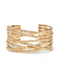 Gas Bijoux - Gold Braided Cuff Bracelet
