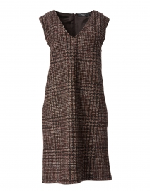 Scalata Chestnut Plaid Dress