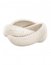 Silver Twist Cobra Bracelet