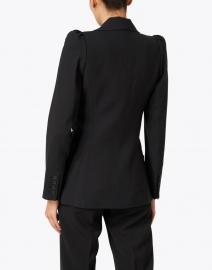Smythe - Black Ruched Twill Blazer Jacket
